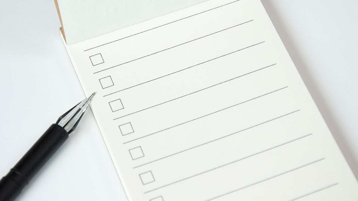 SMSF trustee meeting event checklist